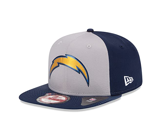 huge selection of f5042 80464 NFL Draft 2015 San Diego Chargers 9Fifty Cap, One Size Fits All, Gray