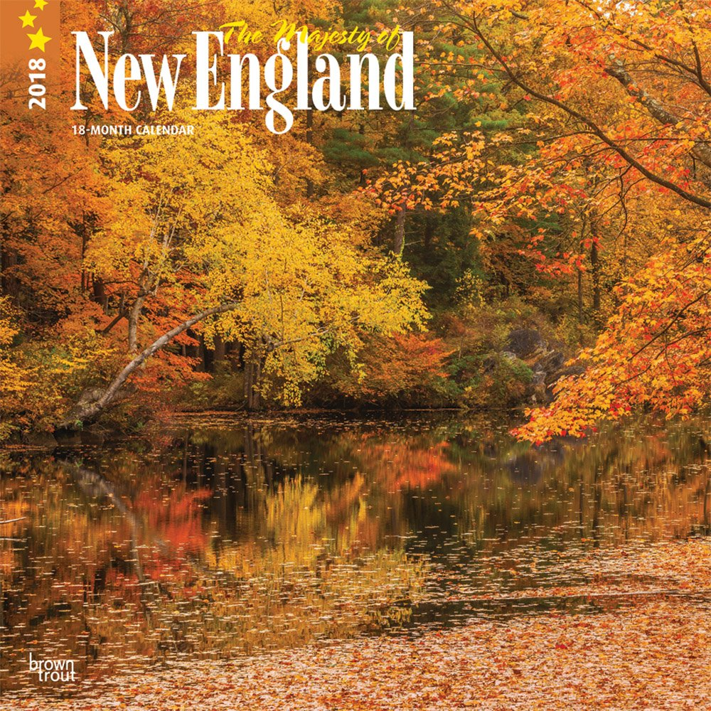 Majesty of New England, The 2018 12 x 12 Inch Monthly Square Wall Calendar, USA United States of America East Coast Scenic Nature (Multilingual Edition) ebook