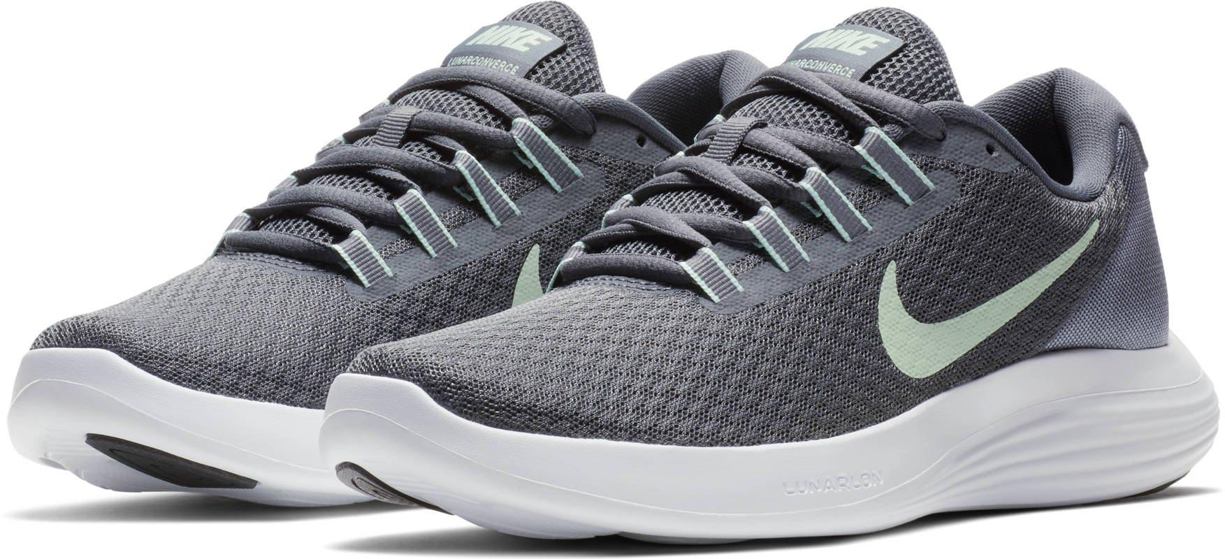 331da0731428ba Galleon - NIKE Womens Lunarconverge Dark Grey/Fresh Mint-Cool Grey-White -  Footwear||Women's Footwear||Women's Running