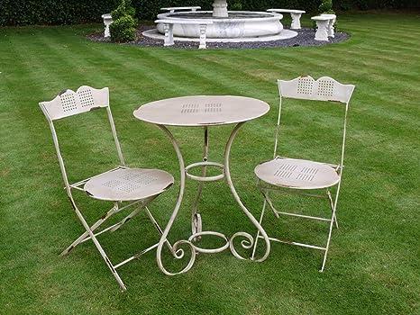 Tavolo In Ferro Battuto Per Esterno : S ornato set mobili da giardino da giardino tavolo e sedie in
