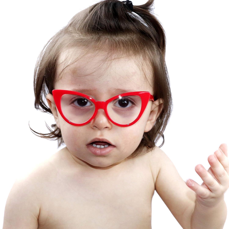 Amazon.com: KD3137 Cateye - Gafas de sol para bebés de 0 a ...