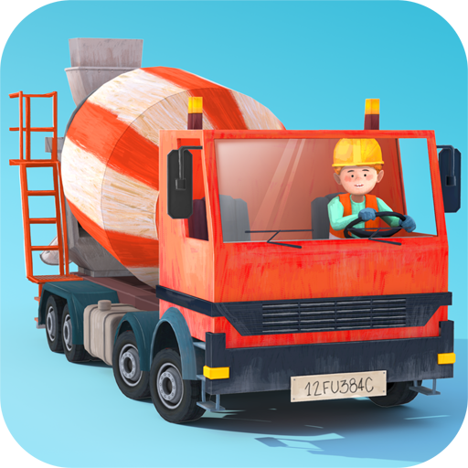 Little Builders - diggers, cranes and trucks for - Builder Truck