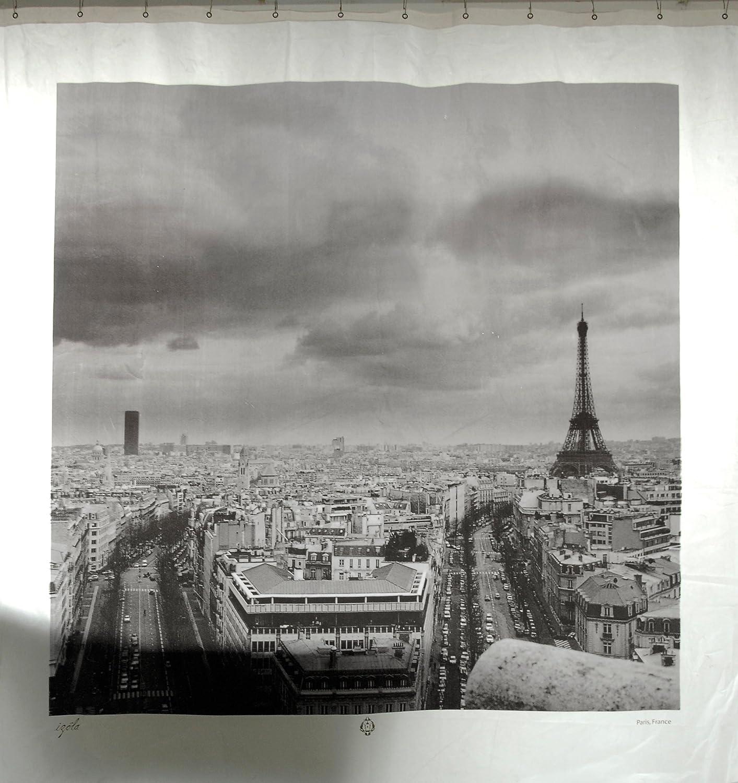 Amazon Paris France Shower Curtain Home Kitchen