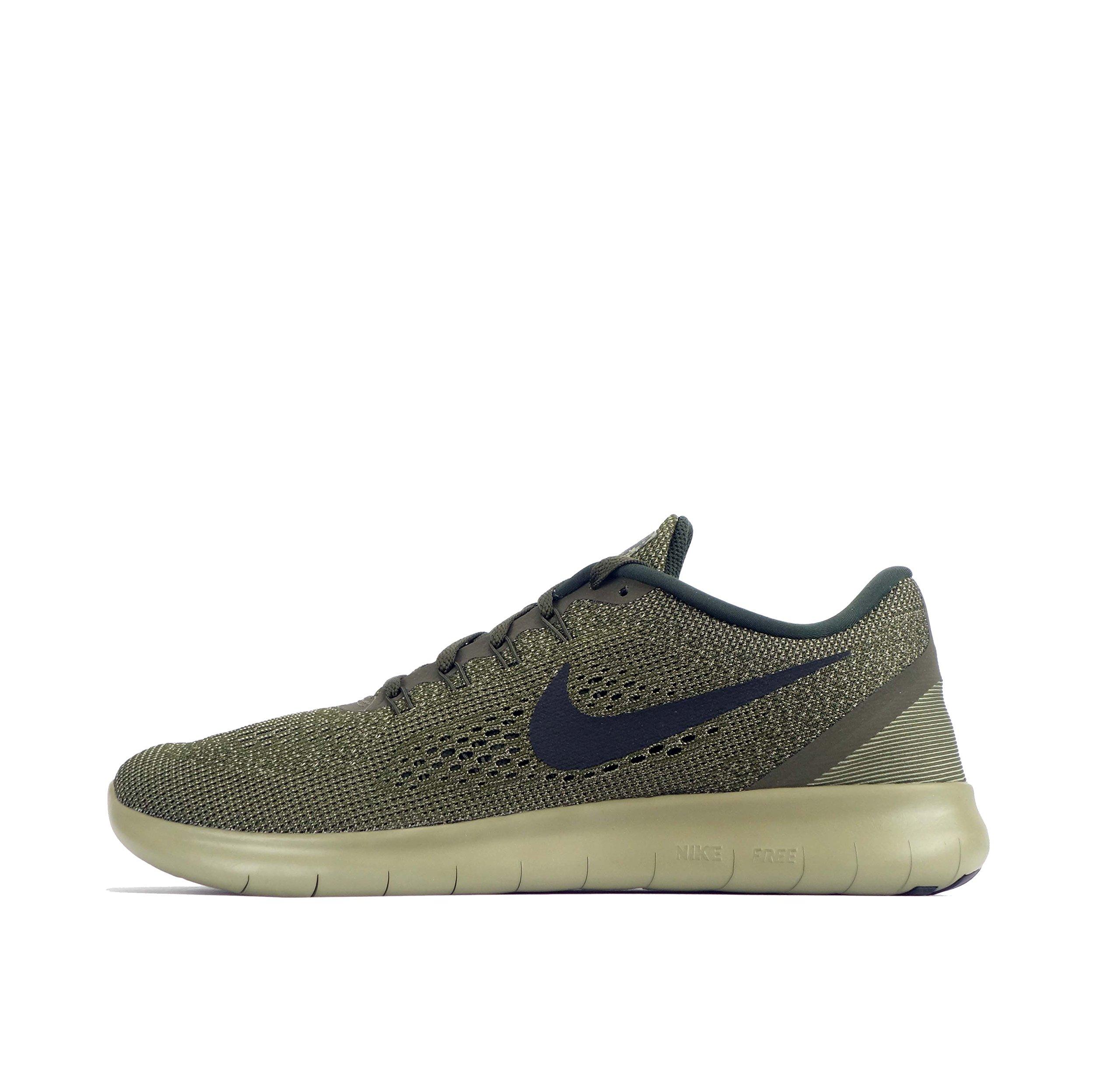 Nike Mens Free Rn Running Shoe (Olive, 8.5)