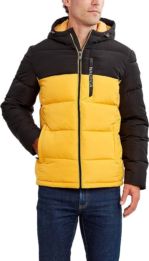 Nautica Water Resist Carcoat Abrigo impermeable para Hombre