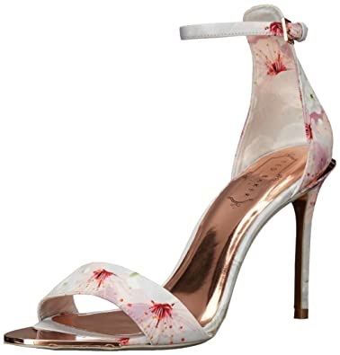 8af676a6b Image Unavailable. Image not available for. Color  Ted Baker Women s Charv  Text AF Oriental Blossom Sandal