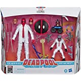 """Marvel Comics 80th Anniversary Legends Series 6""""-Scale Vintage Comic-Inspired Deadpool & Hit-Monkey Collectible Action…"""