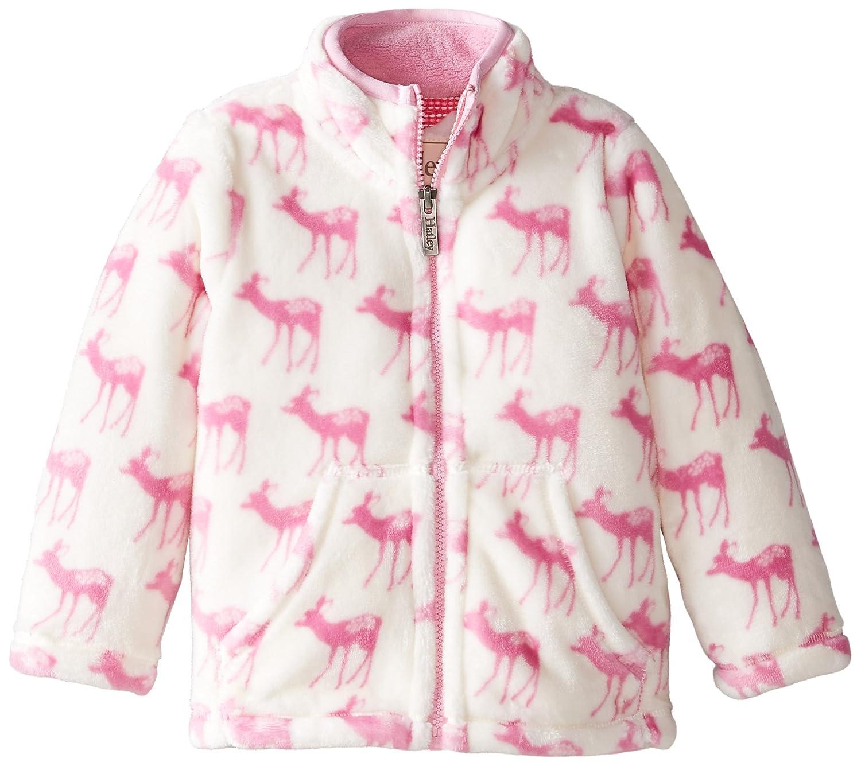 Hatley Girls Fuzzy Fleece Jacket