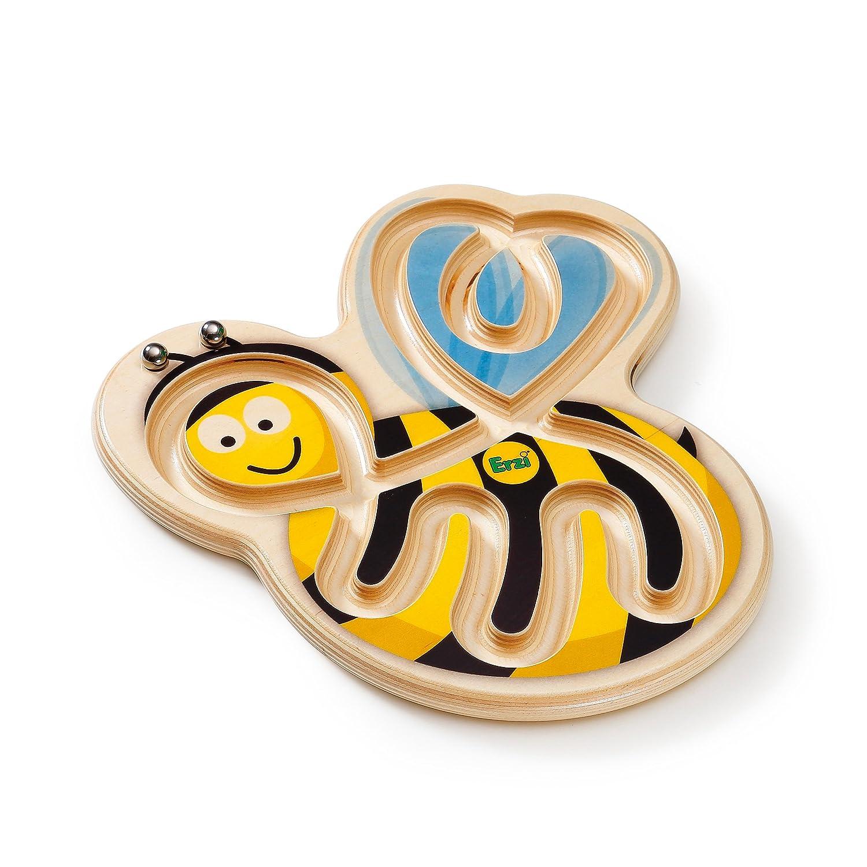 Erzi 29 x 29 x Bee 1,8 cm Bee x Form Balancing Game Deutsche Holz Spielzeug e89a36