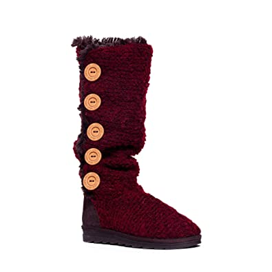 a0a926b86 Muk Luks Women s Malena Crotchet Button Up Boot
