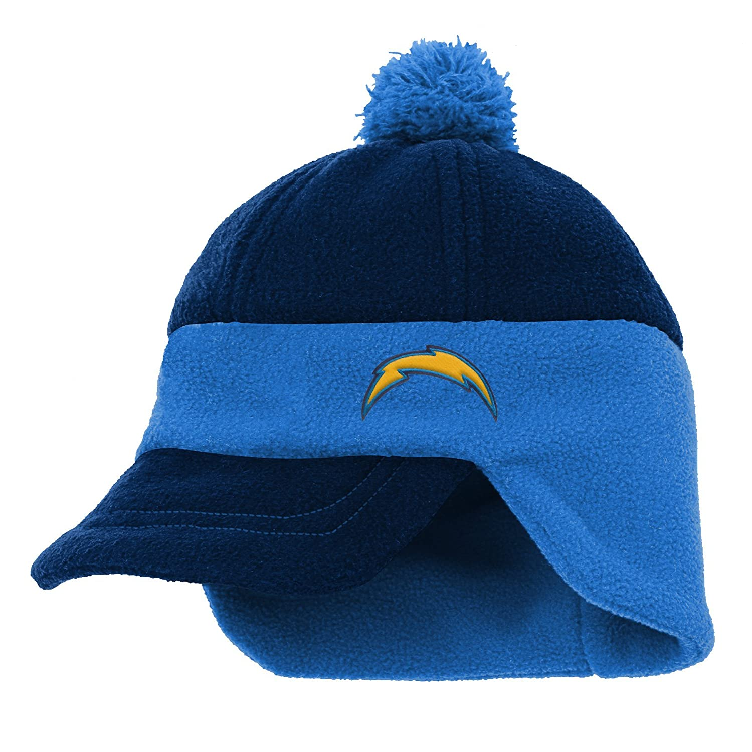 Team Color Youth One Size NFL LA Chargers 4-7 Outerstuff lil Cadet Fleece Hat