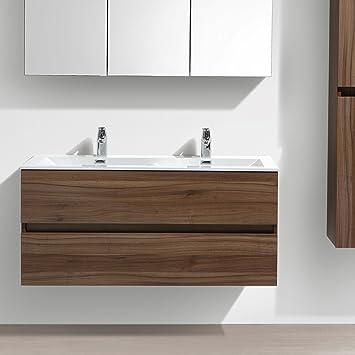 Le Monde Du Bain Meuble Salle De Bain Design Double Vasque Siena