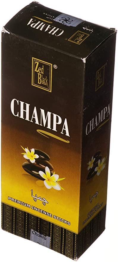 Amazon com: Zed Black Champa Premium Incense Wholesale Pack
