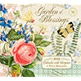 Legacy Publishing Group 2018 12-Month Wall Calendar with Scripture, Garden of Blessings
