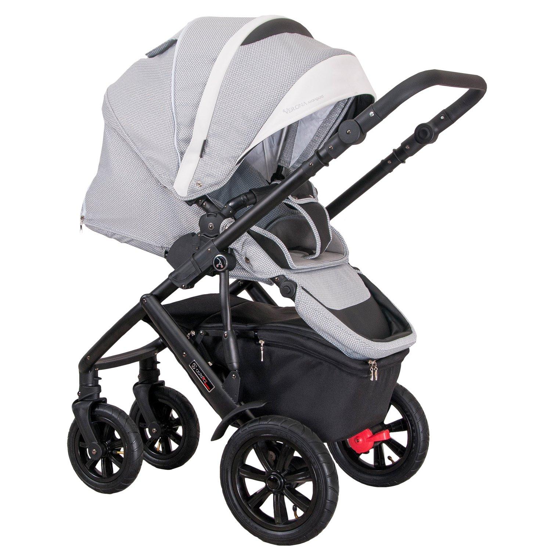 coletto nevera cochecito Verona Avangard 4 en 1 (con asiento bañera para bebés, deportes, Baby Carcasa & Isofix de base) V-04/s grau/weiss: Amazon.es: Bebé