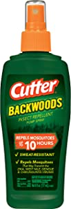 Cutter Backwoods Insect Repellent Pump Spray, 6-Ounce