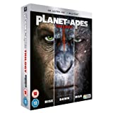 Planet Of The Apes - Trilogy (+ Blu-ray) [4K Blu-ray]