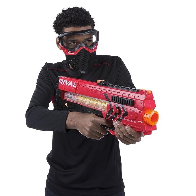 Amazon.com: Nerf Rival Zeus MXV 1200 Blaster rojo: Toys & Games