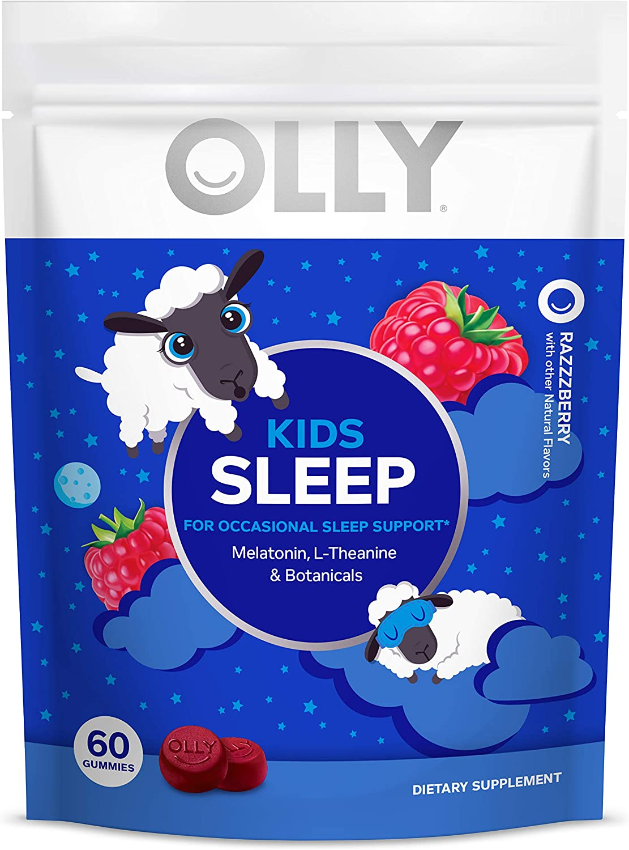 Amazon Com Olly Kids Sleep Melatonin Gummy All Natural Flavor