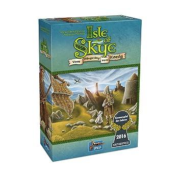 Lookout Games Juego De Mesa Isla De Skye Para Ninos De 10 Anos Y