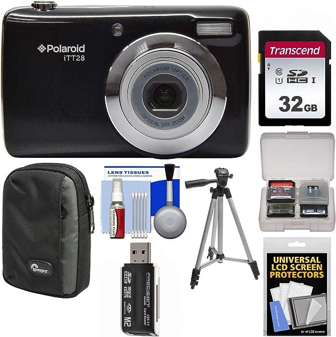 Ultra Compacto 20MP Cámara Digital con zoom óptico de 20x Lente Polaroid ITT28