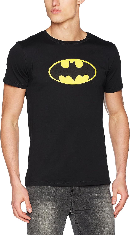 MERCHCODE Merch Código Hombre Batman Logo tee–Camiseta