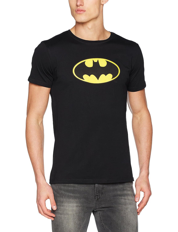 TALLA 3XL. MERCHCODE Merch Código Hombre Batman Logo tee–Camiseta