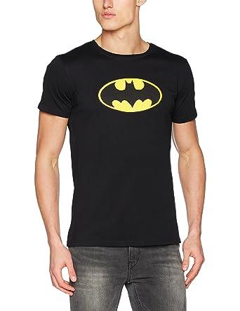 half off 74e42 ebec0 Batman Herren T-Shirt Comic Tee mit Logo-Print des Superhelden