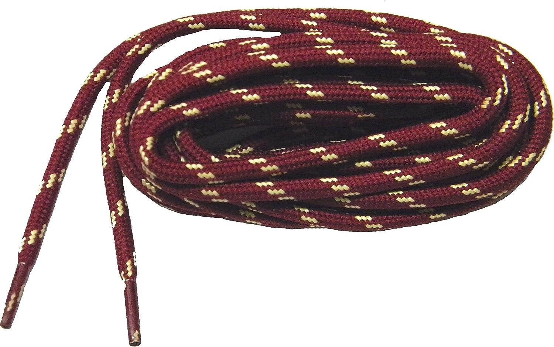Amazon Com Greatlaces Burgundy W Yellow Kevlar R Protough Tm Boot Shoelaces 2 Pair Pack Shoes