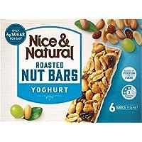 Nice & Natural Yoghurt Roasted Nut Bars, 192g