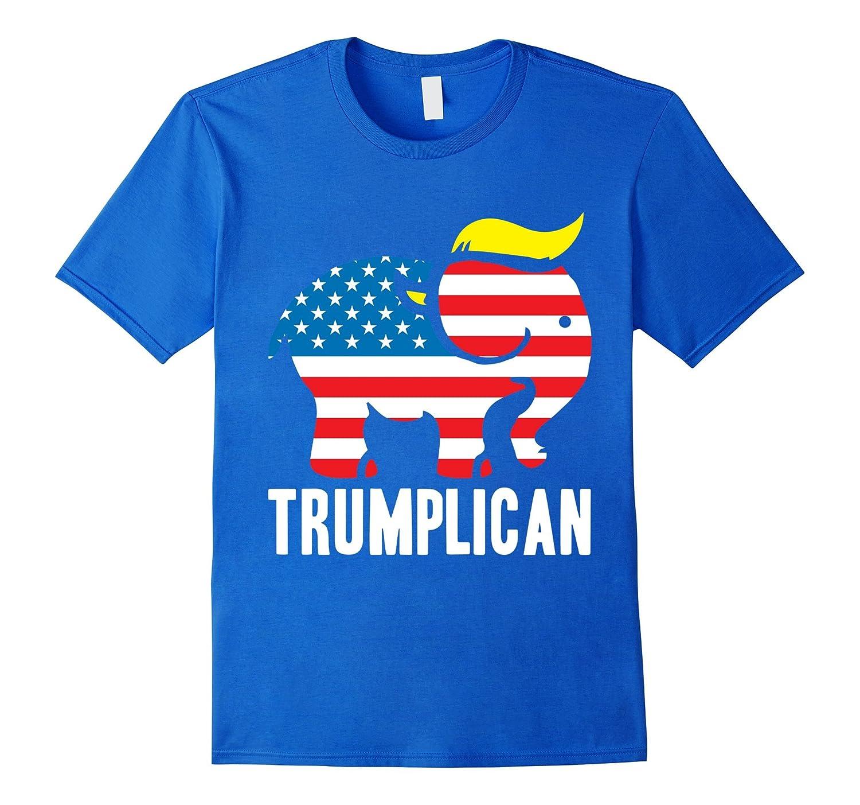 d62d3c5737 ... Trumplican Donald Trump Republican Symbol Politics T-Shirt ...
