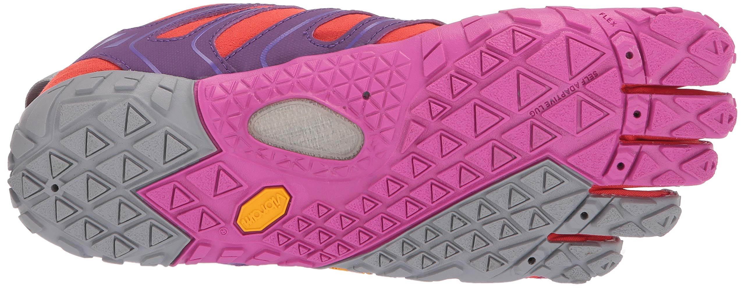 Vibram FiveFingers V-Trail, Women's Trail Running Shoes, Orange (Magenta/Orange), 6.5-7 UK (39 EU) by Vibram (Image #5)