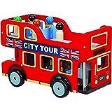 Toyland TL14040 Wooden London Bus Toy
