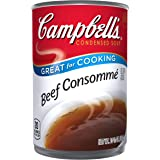Campbell's Condensed Soup, Beef Consomme, 10.5 Ounce