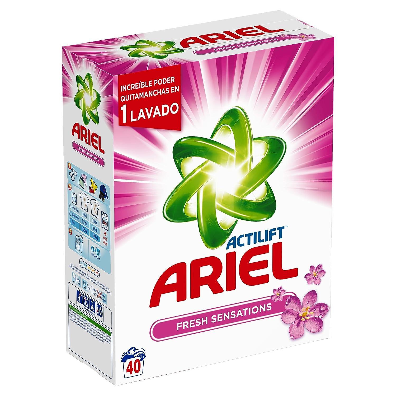 Ariel Sensaciones Detergente en Polvo - 40 Dosis: Amazon.es: Amazon Pantry