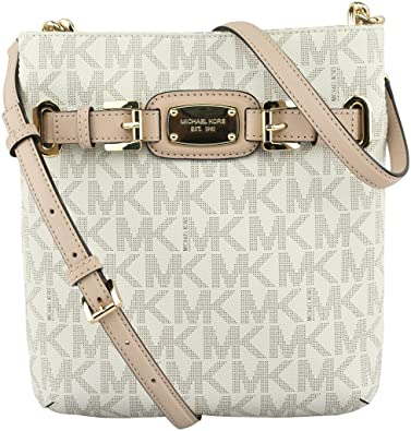 36d0d12e669e4 MICHAEL Michael Kors Hamilton Large Crossbody MK Sig PVC  Amazon.co.uk   Shoes   Bags