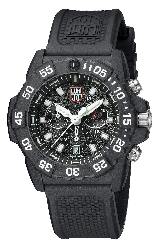 393b11c93fa Amazon.com  Luminox Navy Seal Chronograph 3581  Watches