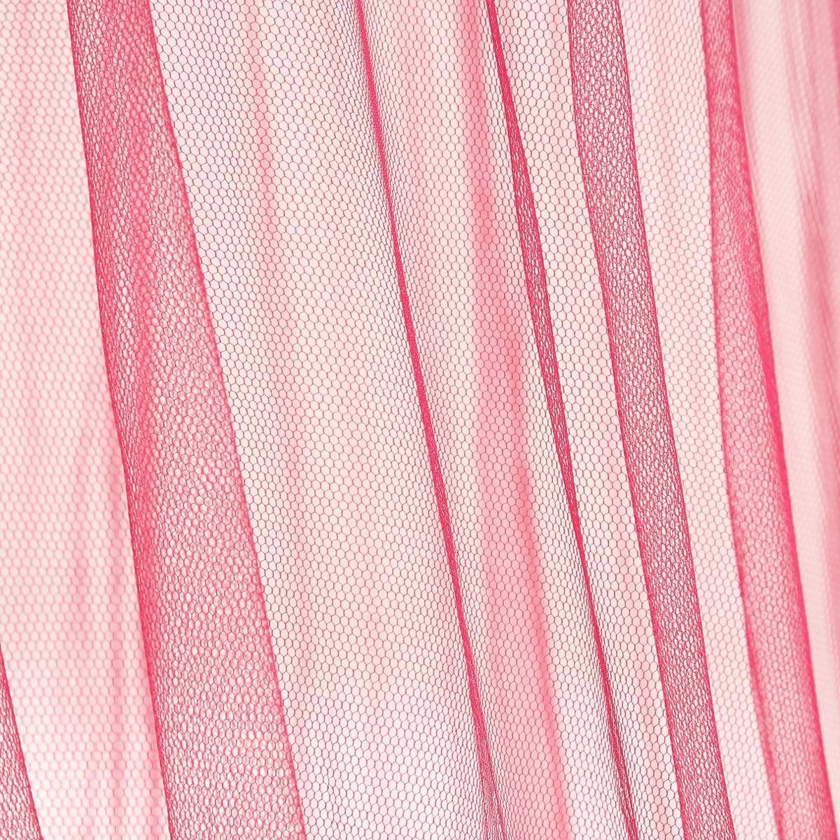 Atmosphera Dosel para Cama 60 X 250cm Color Frambuesa
