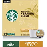 Starbucks Blonde Roast K-Cup Coffee Pods — Veranda Blend for Keurig Brewers — 1 box (32 pods)