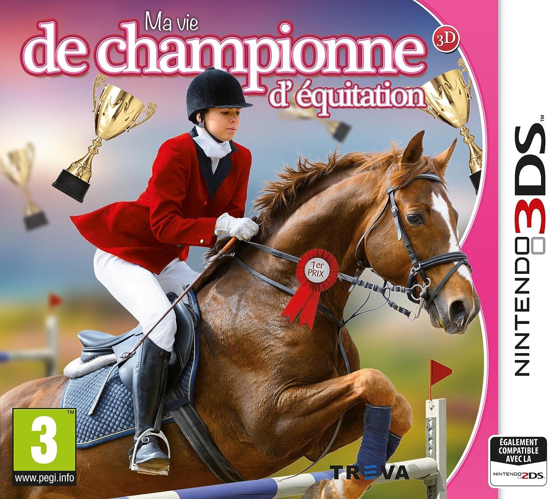 Ma Vie de Championne d'Equitation 3DS: Amazon.fr: Jeux vidéo