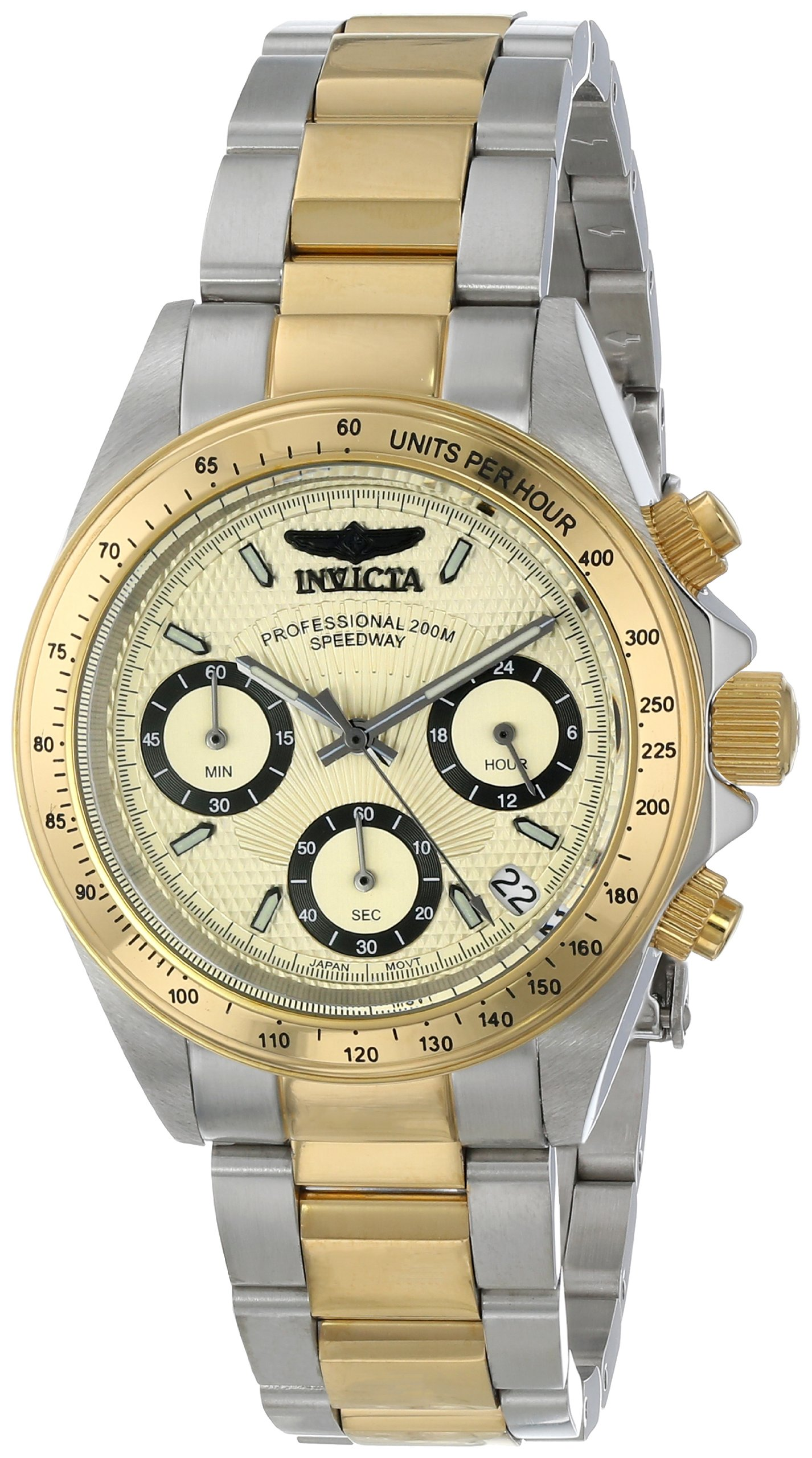 Invicta Women's 14932 Speedway Analog Display Japanese Quartz Two Tone Watch by Invicta