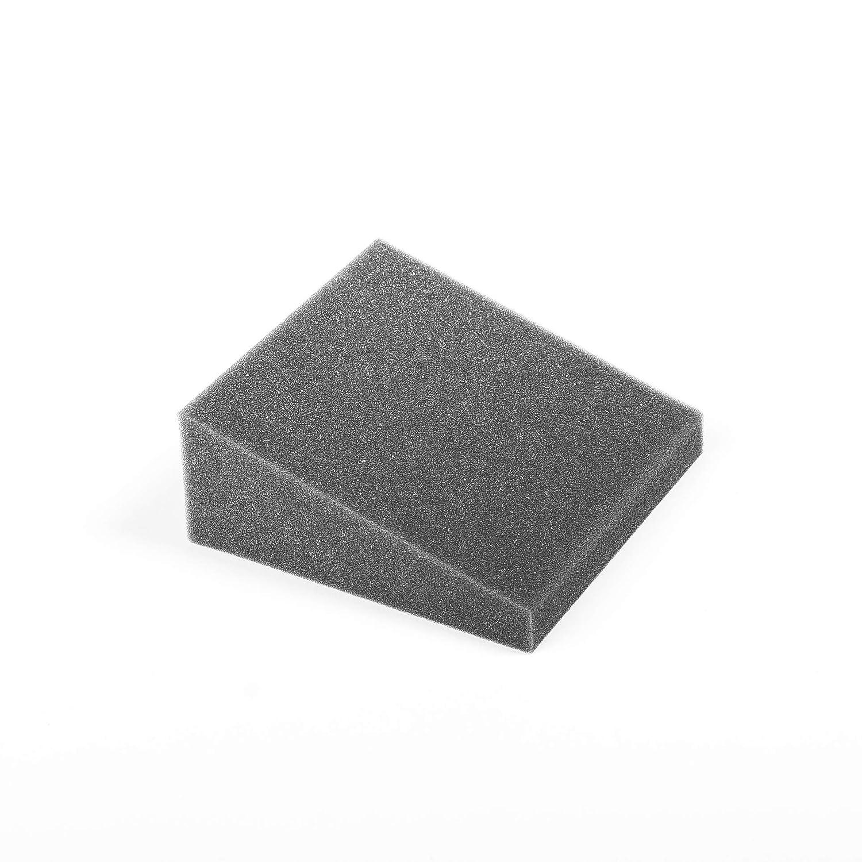 Pack de 32 cuñas de espuma acústica de alta densidad. Piezas de 15x15cm, 6 cm de espesor. Color gris antracita.: Amazon.es: Instrumentos musicales