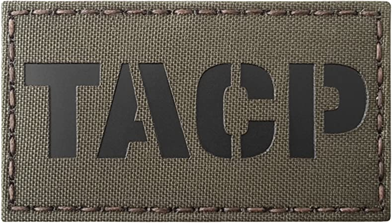 TACP tactical air control party infrared olive drab OD green AFSOC hook patch