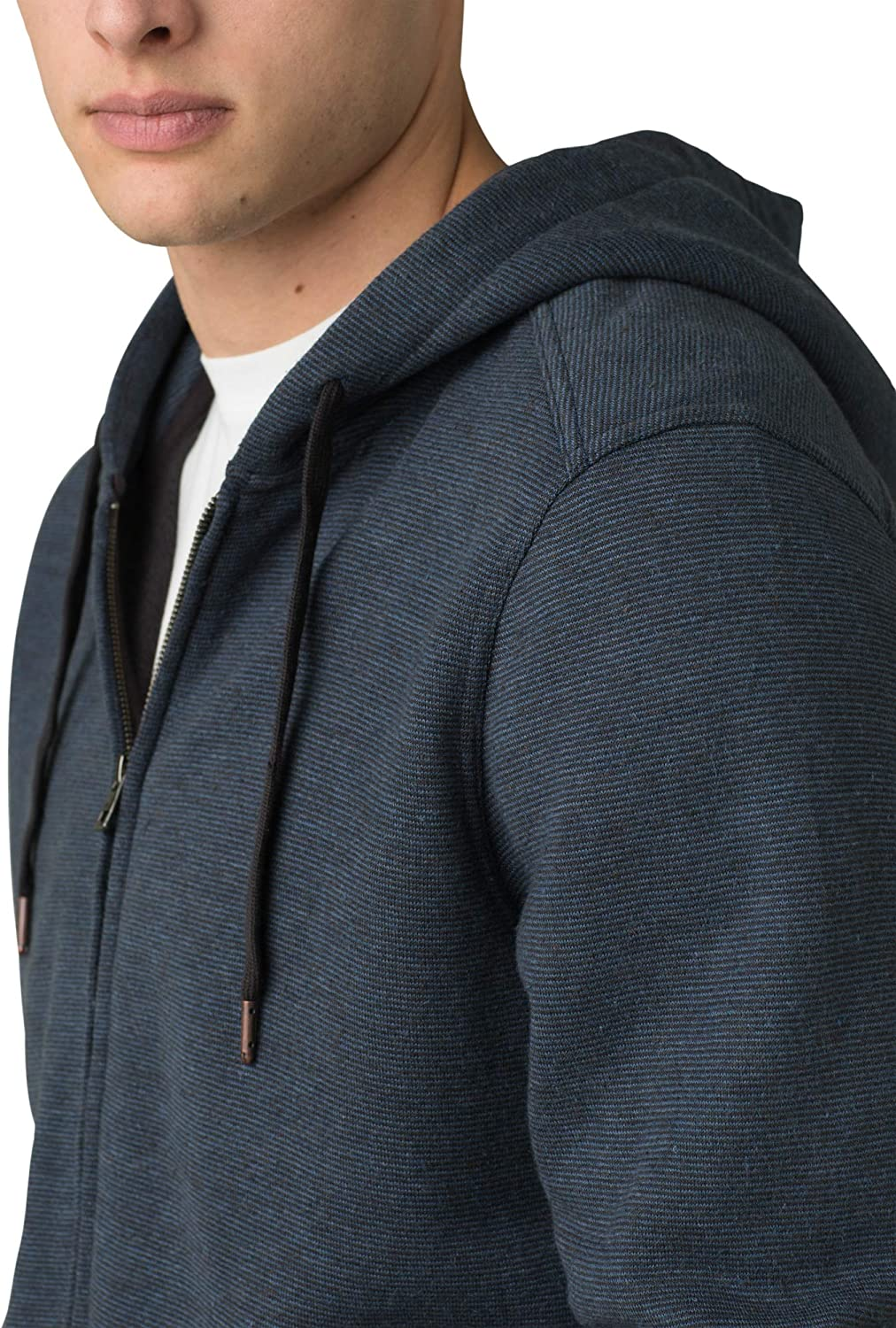 prAna Mens Cardiff Fleece Full Zip