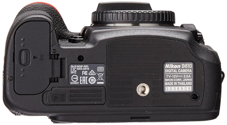 Nikon D810 Fx 363mp Digital Slr Camera Body Only Parts Diagram Electronics