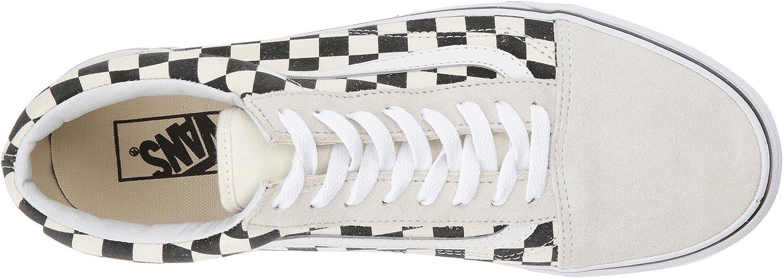 Vans Sk8-hi Suede Vd5i6bt, Baskets Mode Homme Carreaux Blancs Et Noirs