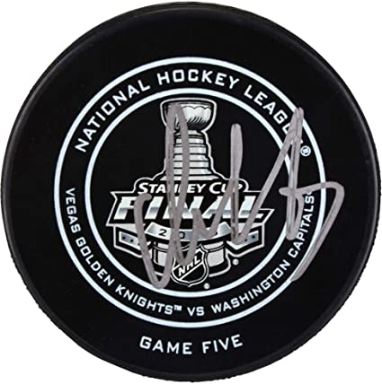 Alex Ovechkin Washington Capitals 2018 Stanley Cup Champions Autographed  Stanley Cup Series-Clinching Official Game cf2251378f0