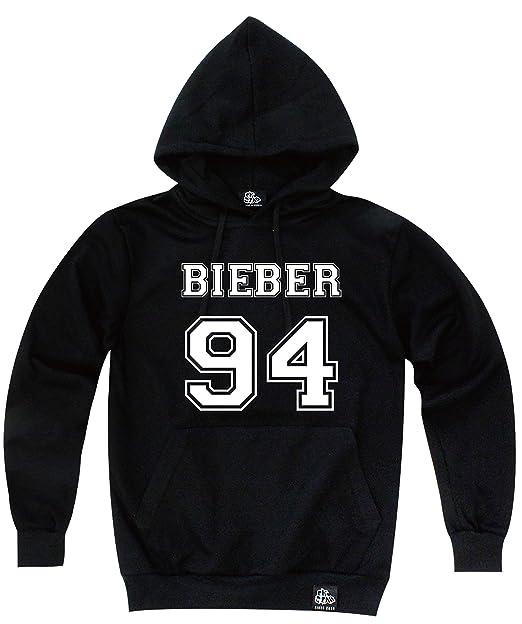 okstar Justin Bieber 94 Número sudadera con capucha camiseta 03 de manga corta: Amazon.es: Ropa y accesorios