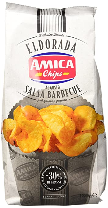24 opinioni per Amica Chips Eldorada Old Barbecue- 130 gr