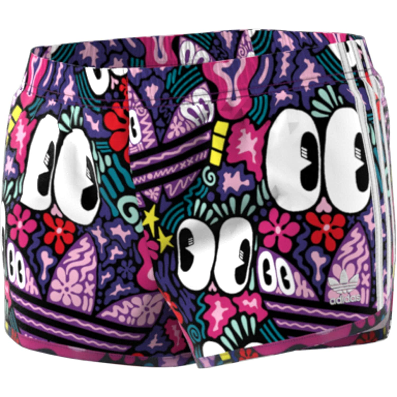 adidas 3 Stripes Pantaloncini Donna Multicolore